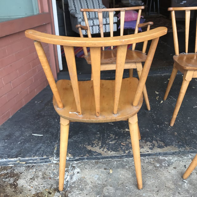 Stone and Thomas Mid Century Chairs For Sale In Dallas - Image 6 of 7