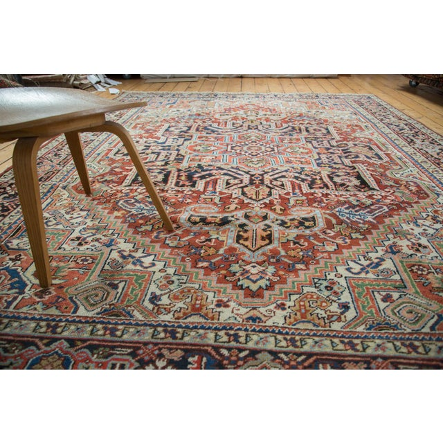"Vintage Heriz Carpet - 8'2"" X 10'4"" - Image 7 of 10"