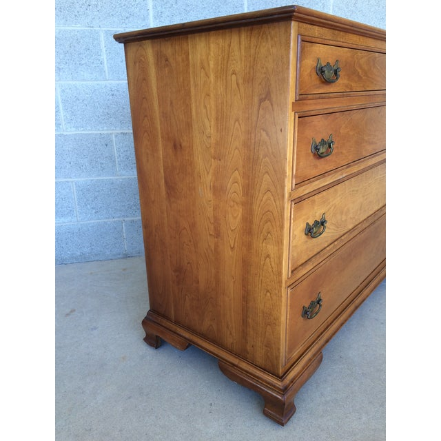 Stickley Stickley Cherry Valley Chest of Drawers For Sale - Image 4 of 10