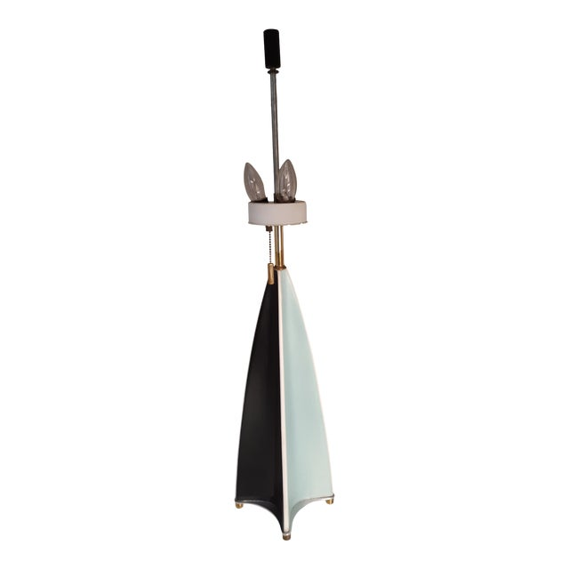 Vintage Parabolic Fin Lamp by Gerald Thurston for Lightolier For Sale