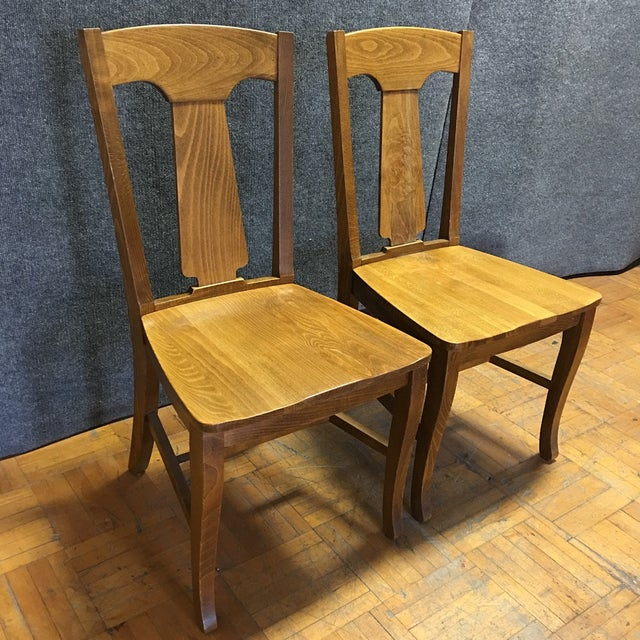 Pottery Barn Loren Dining Chairs - A Pair - Image 2 of 5