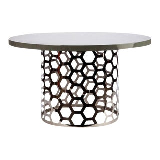 Laguna Dining Table With Gray Top For Sale
