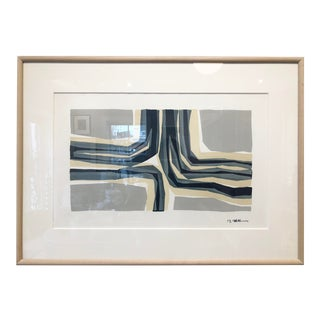 Mid-Century Vintage T. Wagner 'Tunnel View' Lithograph Print For Sale