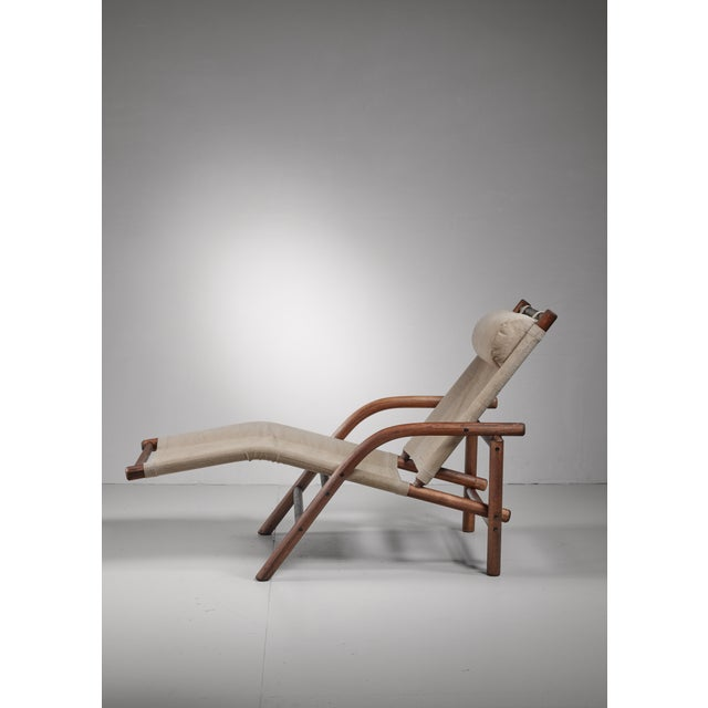 Mid-Century Modern Ben af Schulten lounge chair, Finland, 1970s For Sale - Image 3 of 5