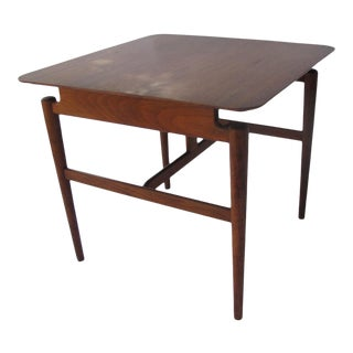 Mid 20th Century Finn Juhl for Baker Furniture Company Floating Occasional Table For Sale