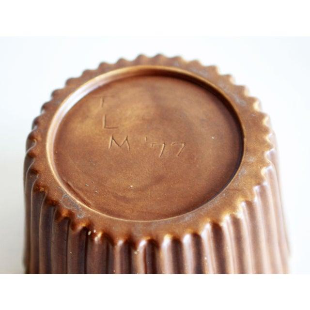 Ceramic Vintage Figural Cupcake Pottery / Ceramic Cookie Jar - a Pair For Sale - Image 7 of 8