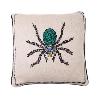 Fee Greening - Spider Cashmere Pillow For Sale