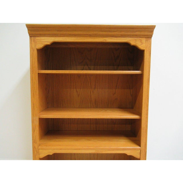 Chippendale Ethan Allen Shelving For Sale - Image 3 of 7