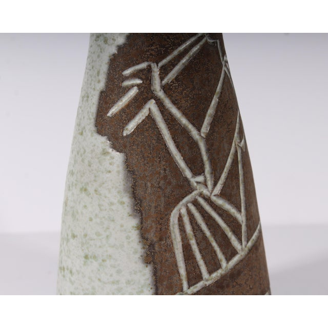 Philippe Lambercy Mid-Century Swiss Cubist Style Flute Player Vase For Sale In Indianapolis - Image 6 of 9
