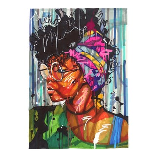 "Expressionist ""Views"" Original Artwork by Domonique Brown For Sale"