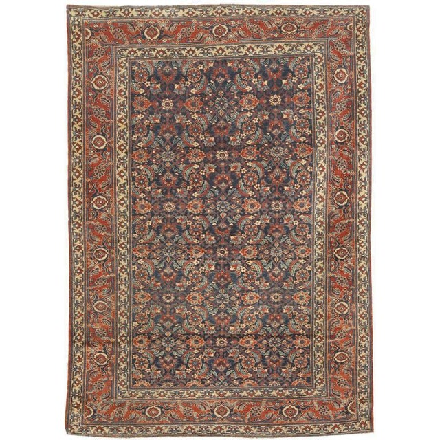 Extremely fine antique 19th century herat rug. Contact dealer. Excellent condition.