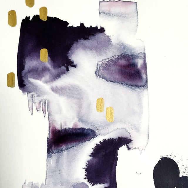 """Beth Winterburn Abstract - """"Downtown"""" - Image 3 of 3"""