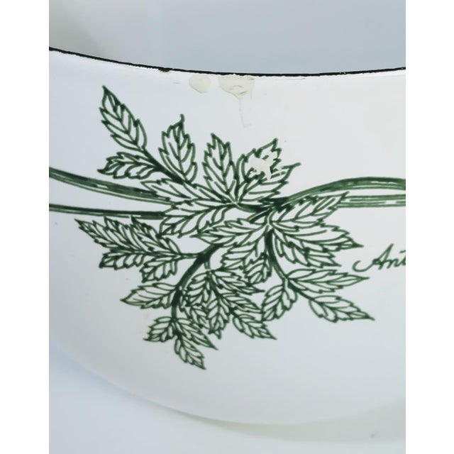 Designed by Kaj Franck in the 1960's for Arabia Finland. Gorgeous enamel mixing bowl. The background is white with a...