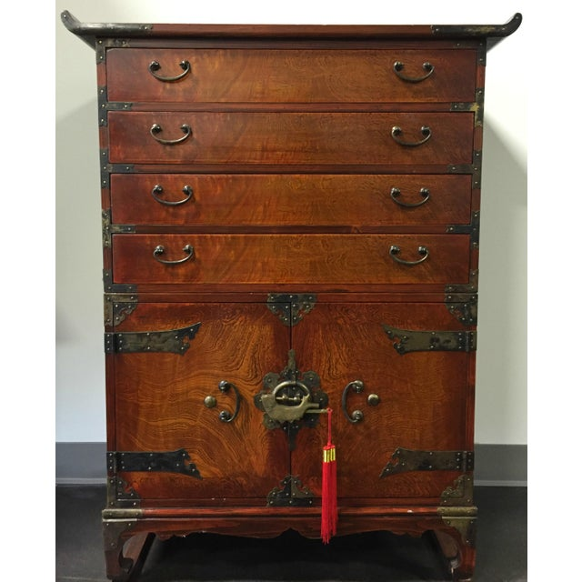 Japanese Tansu Style Silver Chest - Image 10 of 10