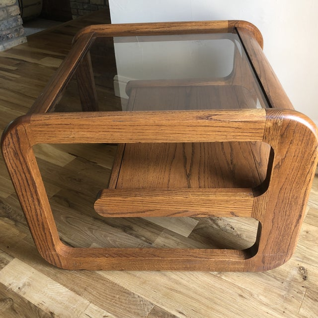 Mid-Century Modern Mid-Century Modern Lou Hodges Side/End Table For Sale - Image 3 of 6