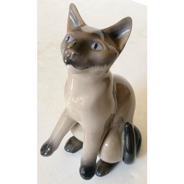 Bing & Grondahl Bing & Grondahl Siamese Cat Figure For Sale - Image 4 of 4