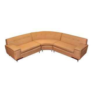 Midcentury Three-Piece Sectional by Kroehler For Sale