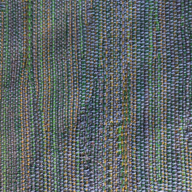1950s Harry Bertoia Diamond Chair for Knoll / Girard Fabric -A Pair For Sale - Image 5 of 10