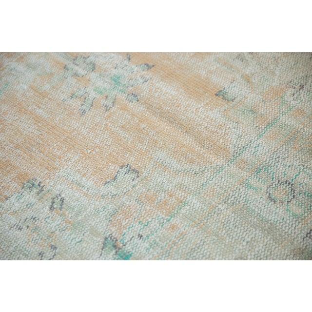 "Vintage Distressed Oushak Carpet - 6'4"" X 9'10"" For Sale - Image 10 of 12"