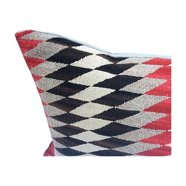 Native American Weaving Pillows- A Pair - Image 2 of 4