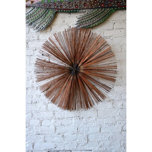 1970s Starburst Wall Sculpture For Sale - Image 5 of 6