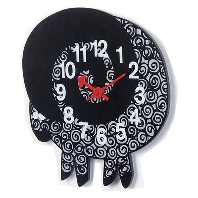 This George Nelson 1950 Mid Century Modern Wall Zoo Series Clock is a re-issue from the Telechron George Nelson Clock...