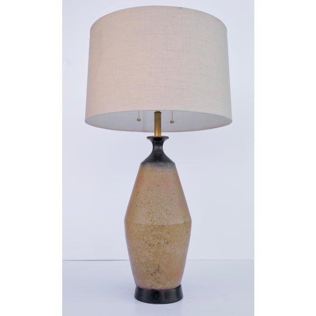Mid-Century Ceramic Table Lamp by Bitossi For Sale - Image 4 of 4