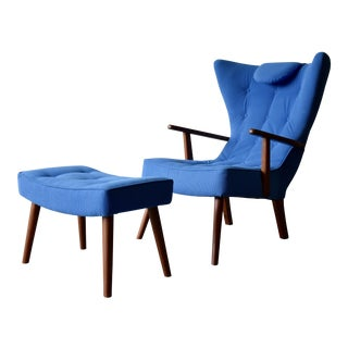 Adrian Pearsall Style Mid-Century Tufted Lounge Chair