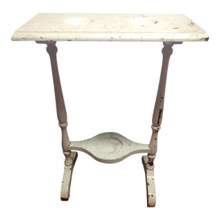 Vintage Double Wash Basin Table