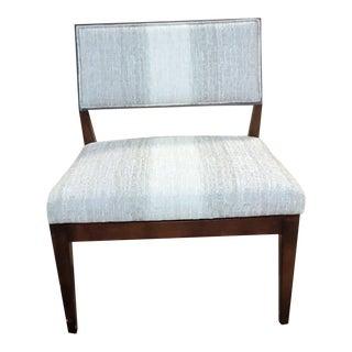 Henredon Furniture Venue Walnut Mid-Century Modern Dining Side Chair For Sale
