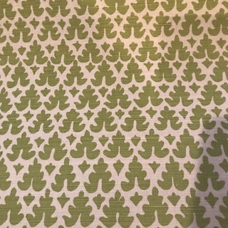 Quadrille Volpi Linen Apple Fabric For Sale