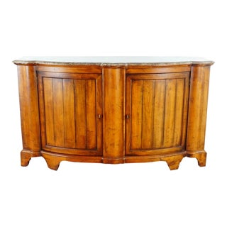 Century Furniture Somerset Maple Veneer Maple Top Credenza For Sale