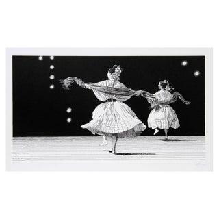 Vic Herman, Dancers Of Guanajuato, Lithograph For Sale