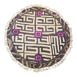 Vintage Kuba Cloth Floor Mat For Sale