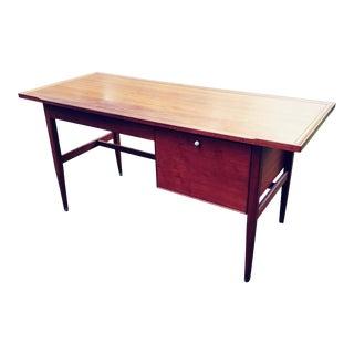 1950s Mid-Century Modern Drexel Declaration Walnut Writing Desk