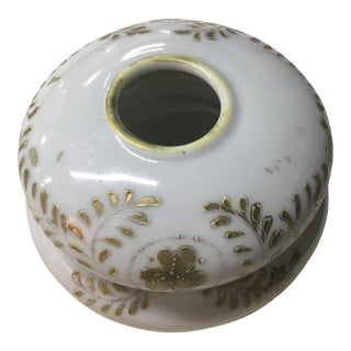 Victorian Porcelain Hair Receiver Vase