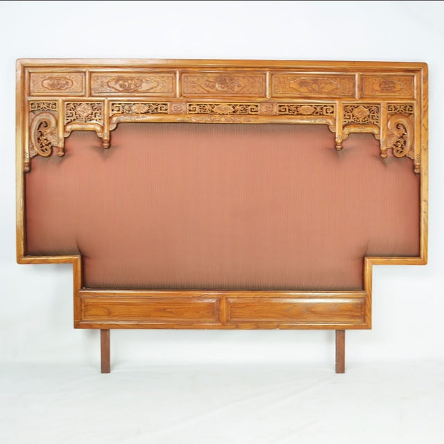 19th-C. Chinese Qing Dynasty Bed - Image 7 of 10