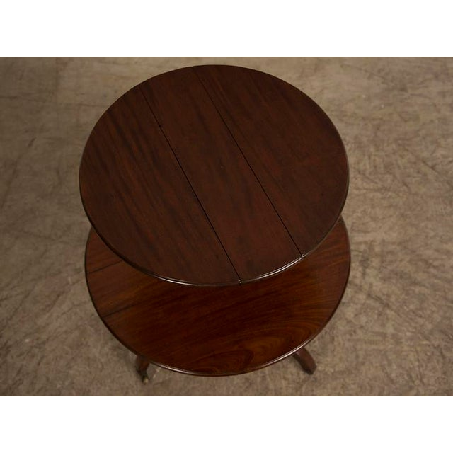 George III Period Mahogany Pedestal Table, England circa 1820 For Sale In Houston - Image 6 of 8