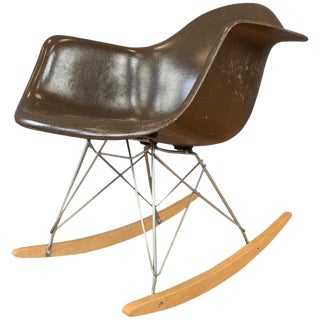 Vintage Eames for Herman Miller Rar Rocking Chair For Sale