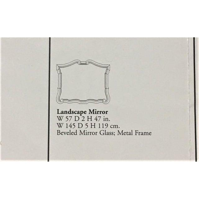 Bernhardt Avignon Large Landscape Mirror For Sale - Image 9 of 11