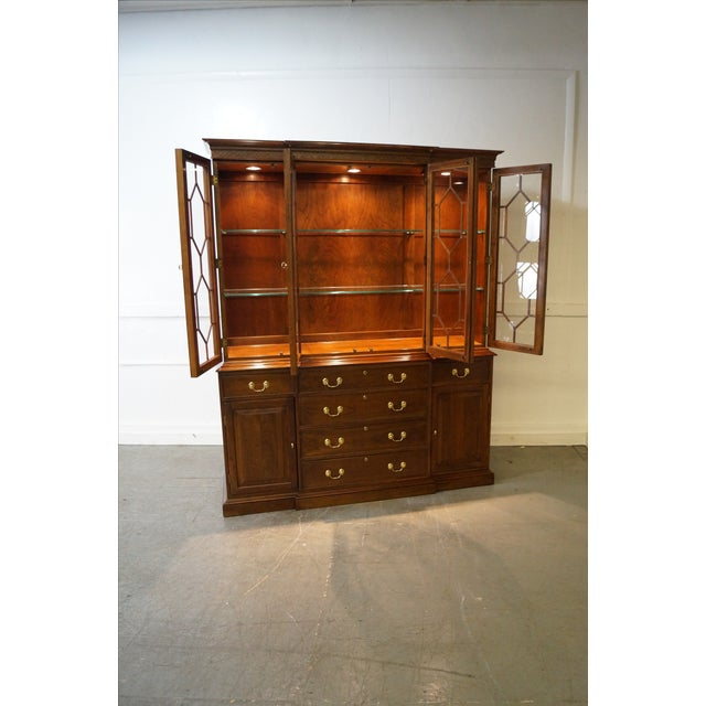 Harden Chippendale Style Cherry China Cabinet - Image 2 of 10