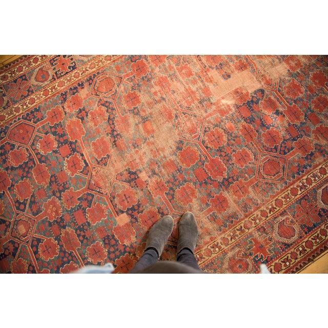 "Antique Distressed Beshir Gallery Rug Runner - 6'6"" x 13' - Image 2 of 10"