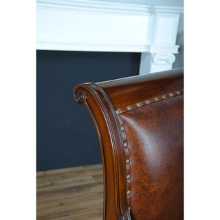 Regency Leather Arm Chair Preview
