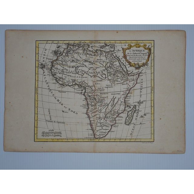 18th C. Africa & N. Africa Maps- Set of 2 - Image 3 of 4