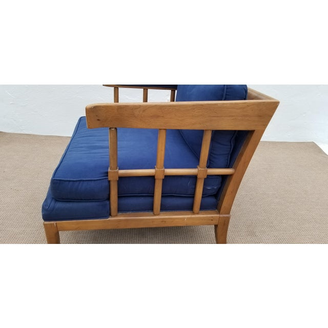 1970s Mid-Century Modern Barrel Back Club Lounge Chair For Sale - Image 10 of 12
