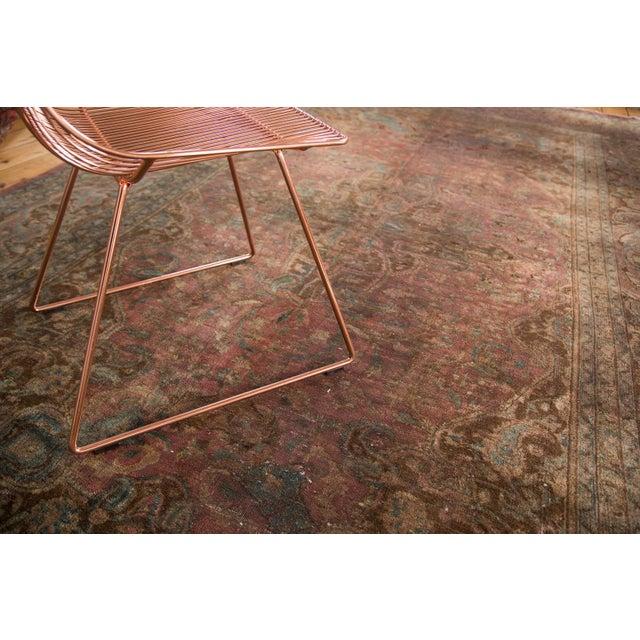 """Vintage Meshed Carpet - 7'3"""" x 12'6"""" - Image 8 of 9"""