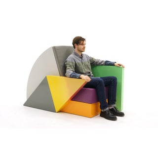 Bone Air Chair by Memphis Milano Designer Peter Shire Preview