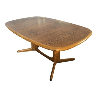 Vintage Gudme Mobelfabrik Danish Modern Dining Table