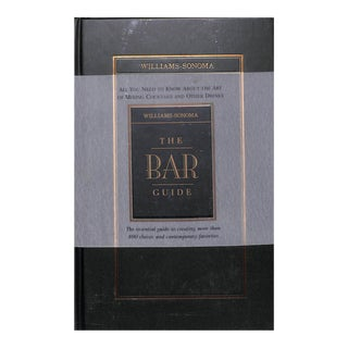 Williams-Sonoma The Bar Guide Book