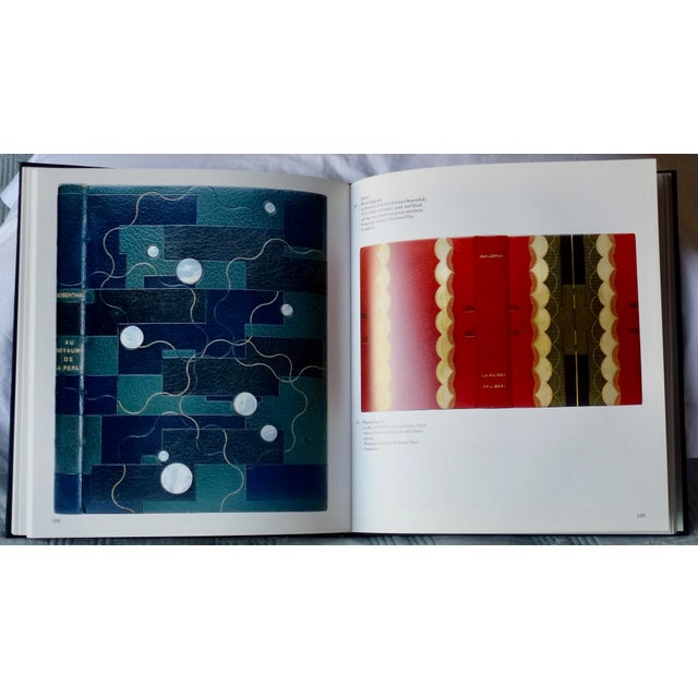 """Paper 1960s Vintage """"Art Nouveau and Art Deco Book Binding"""" Book For Sale - Image 7 of 9"""